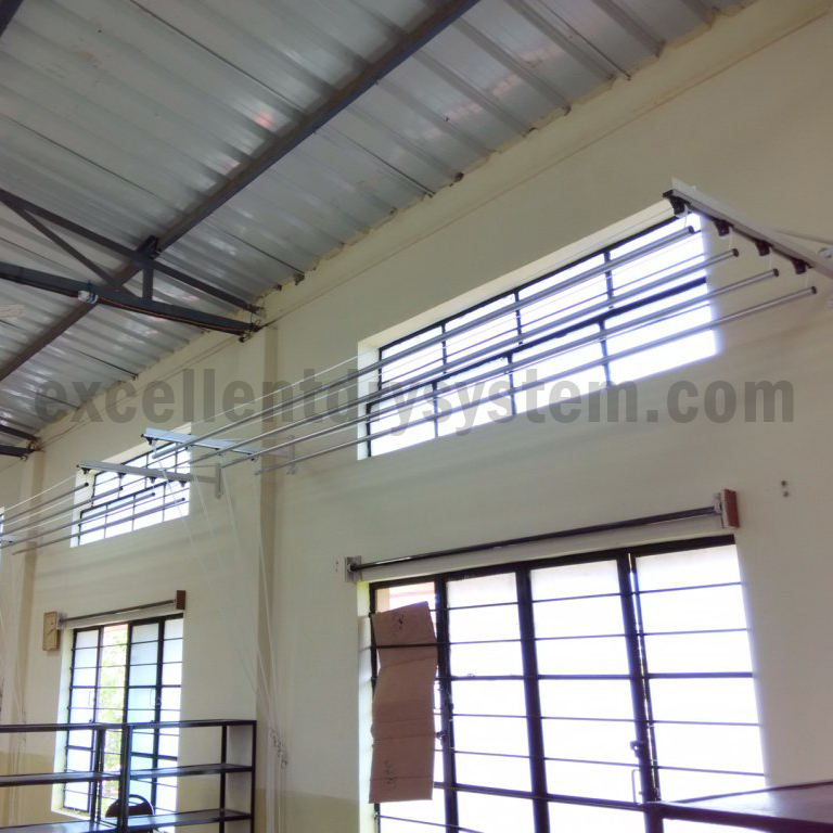 pulley operated cloth drying system in sadashiv Peth